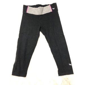 VS Pink Crop Leggings